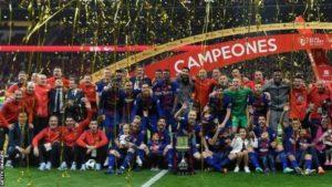 Barcelona Hammer Sevilla 5-0 To Win The Copa del Rey