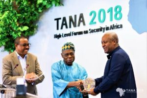 Ex President Mahama takes up African leader role