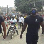 Unity Walk: NDC unveiled new vigilante group 'The Hawks' at Kumasi