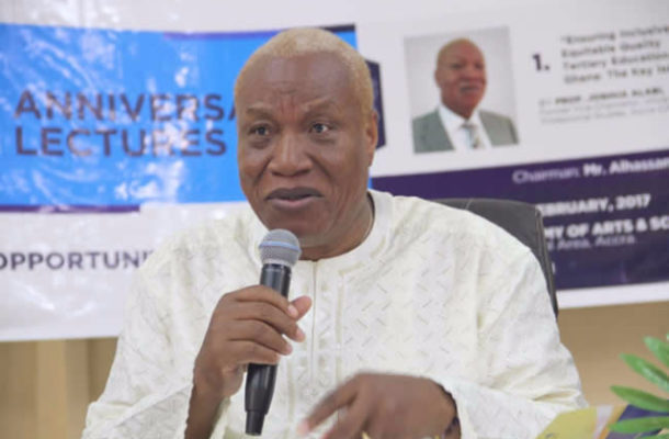 God wants me to transform Ghana to Africa's Switzerland - Prof. Alabi