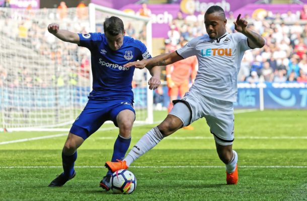 He's Back! Jordan Ayew rescues a point for Swansea against Everton