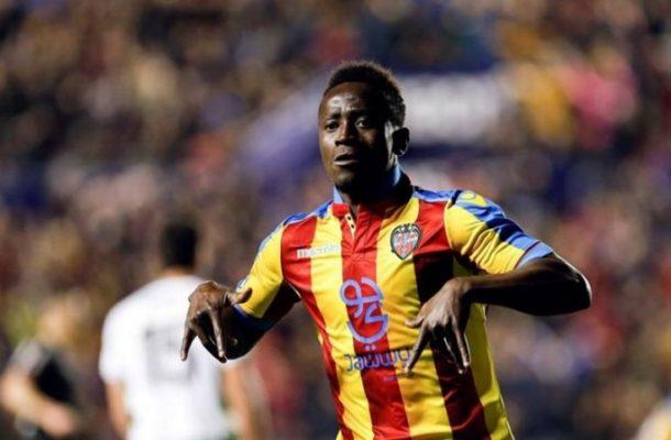 Ghana striker Emmanuel Boateng delighted with injury-time winner for Levante