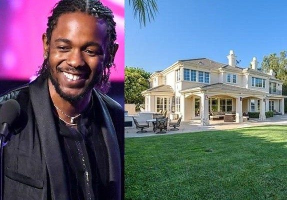 PHOTOS: Kendrick Lamar splashes $2.65million on a sprawling mansion