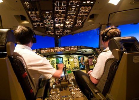Two Pilots suspended for allowing 'girlfriend' fly in cockpit