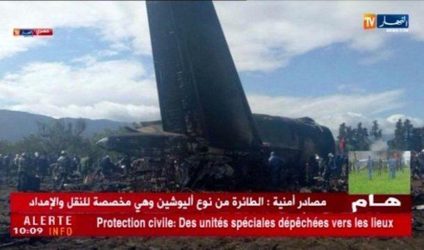 Hundreds die in an Algerian Military plane crash