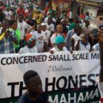 NDC Unity Walk bubbles in Ashanti
