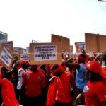 NDC gurus lead demo against US military deal in tamale