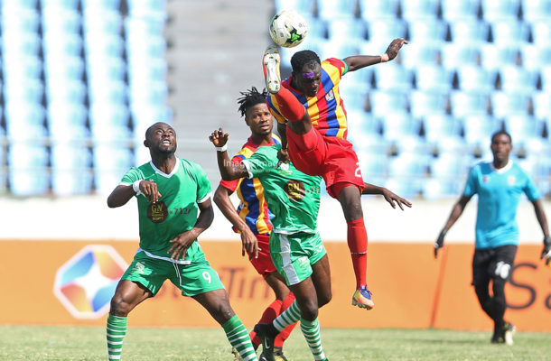 Elmina Sharks devour Hearts of Oak in Cape Coast