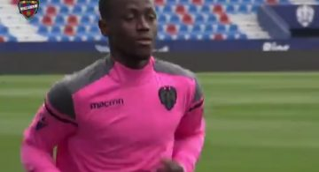 Emmanuel Boateng steps up recovery from injury