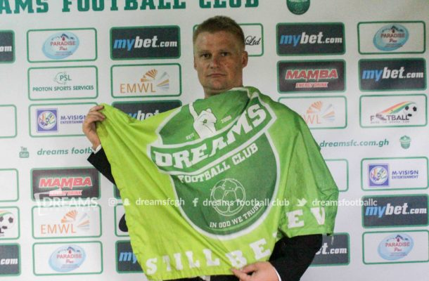 ICYMI: Dreams FC unveil Juha Pasoja new head coach