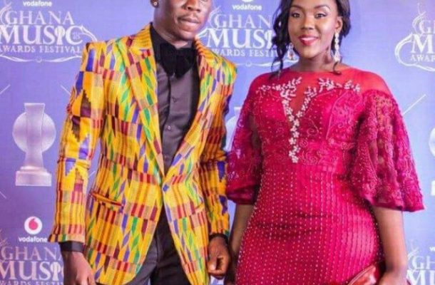 PHOTOS: Stonebwoy and wife stun at VGMA