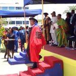 UPSA confer Doctorate Honor on CAF President.