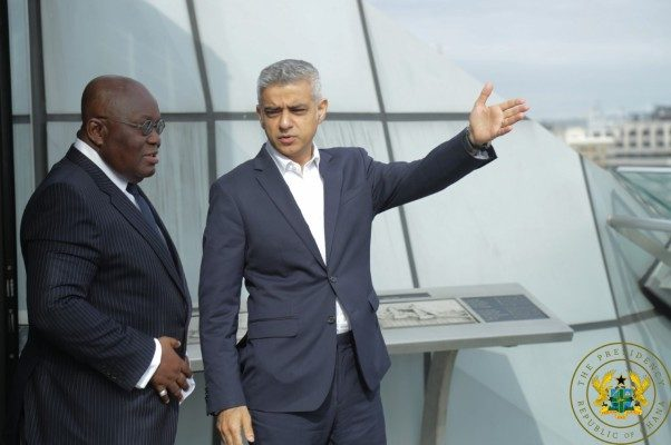 Ghana is a haven of peace, stability – Akufo-Addo tells UK investors