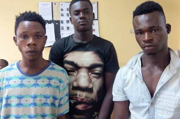 Police detain 3 armed robbers in Eastern region