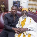 PHOTOS: Stonebwoy visits Chief Imam for his 99th birthday celebration