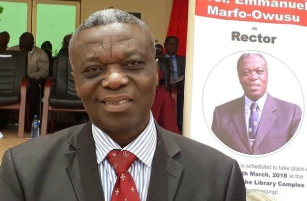 I didn't accept my appointment because of wealth, I was already rich - Wa Poly Rector