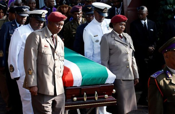 South Africa lays Winnie Mandela to rest