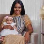 PHOTOS: Yvonne Nelson finally shows off daughter's face as they stun for Agoo Magazine