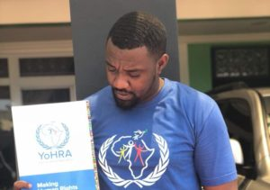 John Dumelo gets Human Rights Ambassador appointment