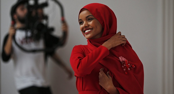 Ghanaian-born editor features first hijab-wearing model on British Vogue cover