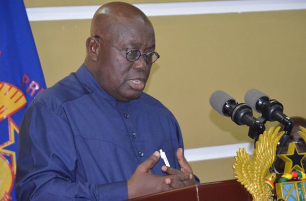 President Akufo Addo Makes 13 new appointments