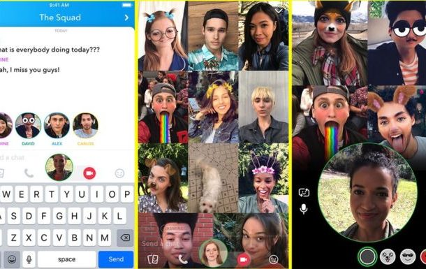 Snapchat adds 16-Person group video calls