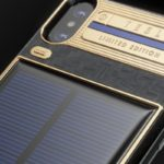 The $4k Tesla iPhone X complete with solar panel charging
