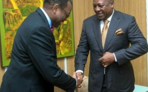 Mahama attends AfDB meeting days after relaunching Presidential bid