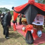 PHOTOS: Edumadze goes home today