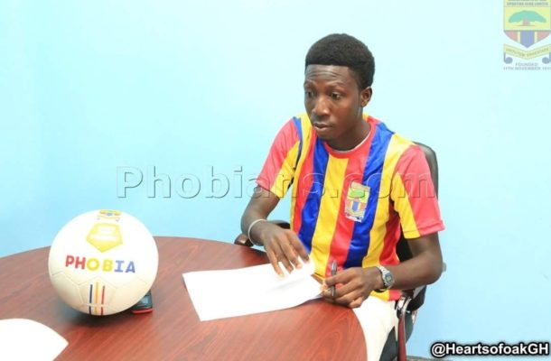 Hearts of Oak sign whizkid William Dankyi from Liberty Professionals
