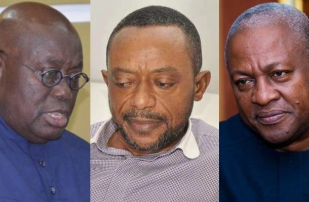 Owusu Bempah ditches Akufo-Addo; Caught in leaked audio predicting 2020 win for Mahama?