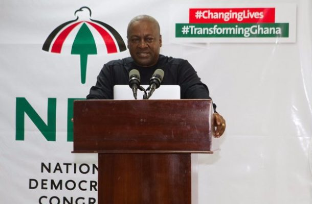 NDC 2020: I have listened to your calls and reflected - Mahama bows to pressure