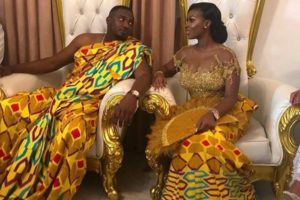 VIDEO/PHOTOS: John Mahama, Ramsey Noah, Others storm John Dumelo's traditional wedding ceremony