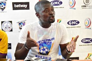 Medeama coach Samuel Boadu refuses to blame referee for Berekum Chelsea defeat
