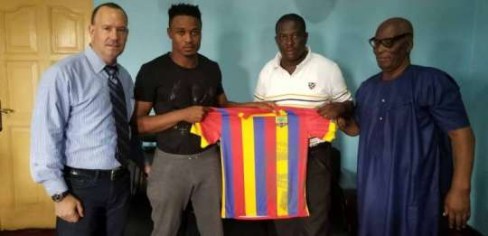 Ernest Sowah must earn the right to be Number 1- Hearts CEO Mark Noonan