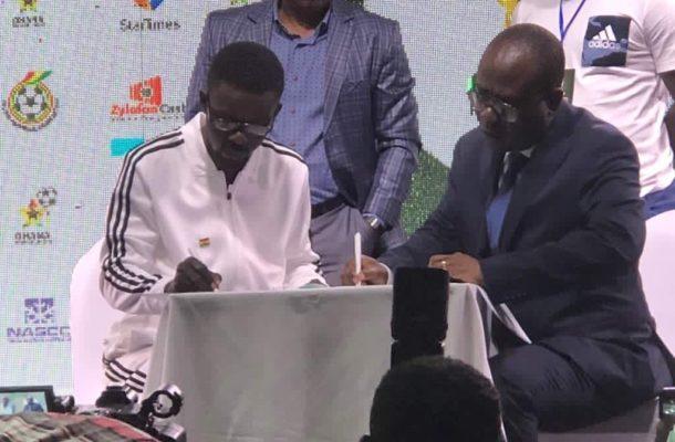 Zylofon Cash unveiled as headline sponsors of Ghana Premier League