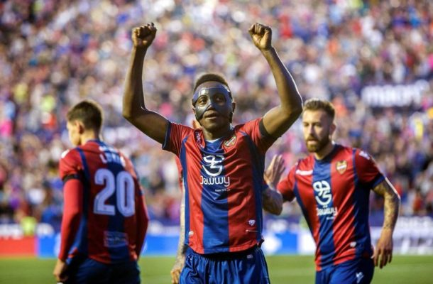 Emmanuel Boateng reveals what Coutinho told him after stunning hat-trick against Barcelona