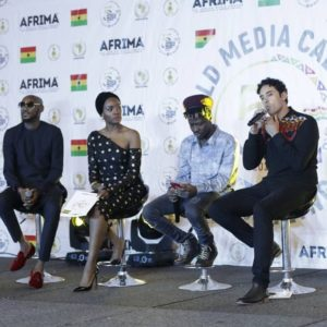 PHOTOS: Boris Kodjoe, 2Baba, Efya, Others spotted at the Unveiling of AFRIMA as Ghana host event for the first time