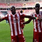 Ghana's John Boye, Arouna Kone emerge top players for Turkish side Sivasspor
