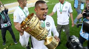 Kevin Prince Boateng guides Eintracht Frankfurt to first silverware in 30 years