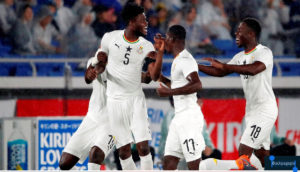 PHOTOS: Thomas Partey guides new look Black Stars to victory against Japan