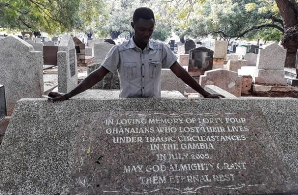 Mass grave of alleged victims of former president Jammeh found in the Gambia
