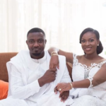 Dumelo's wife showers him with accolades, describes him as yummy dark hot chocolate husband
