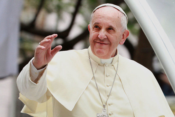 """""""God made you like this, God loves you like this"""" – Pope Francis tells Gay man"""