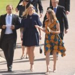 Prince Harry's ex-girlfriends Chelsy Davy and Cressida Bonas attend his wedding to Meghan Markle