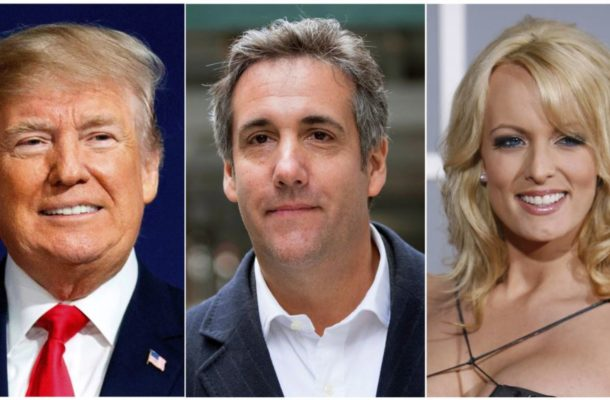 Trump discloses 'Stormy Daniels' payment