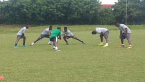 6 players turn up for Black Stars first training session