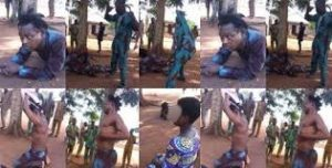 PHOTOS: 55-year-old pedophile pastor mercilessly beaten for abducting and impregnating 10-year-old girl