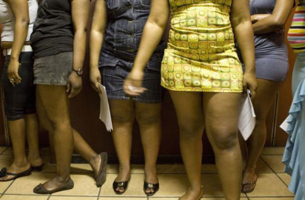 Police arrest 35 suspected prostitutes in Kasoa