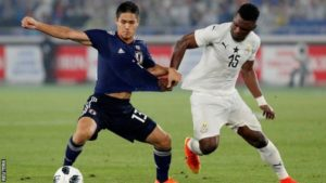 Video: Watch highlights of Ghana's 2-0 friendly win over Japan